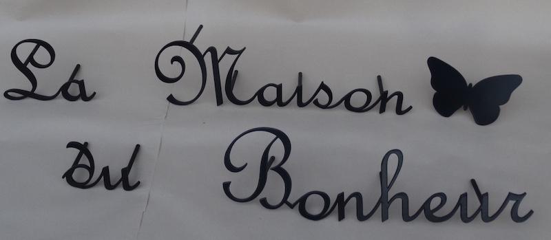 Nom De Maison Personnalisé